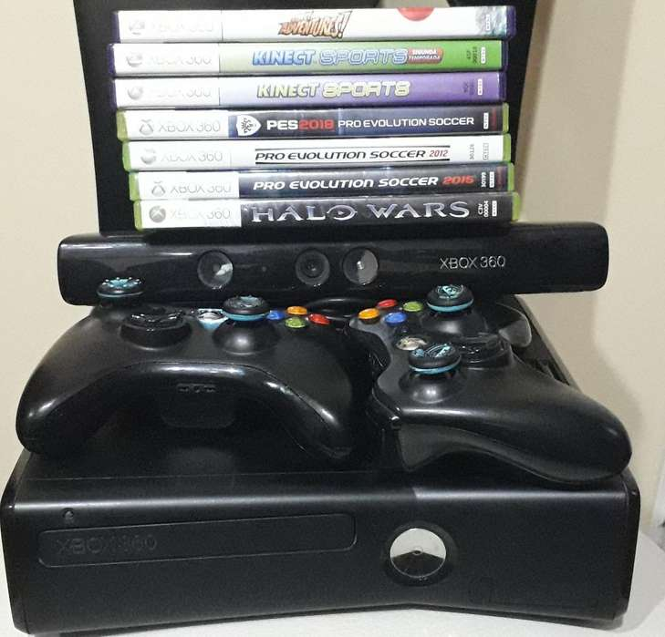 Xbox 360kinectjuegos 250 Gb