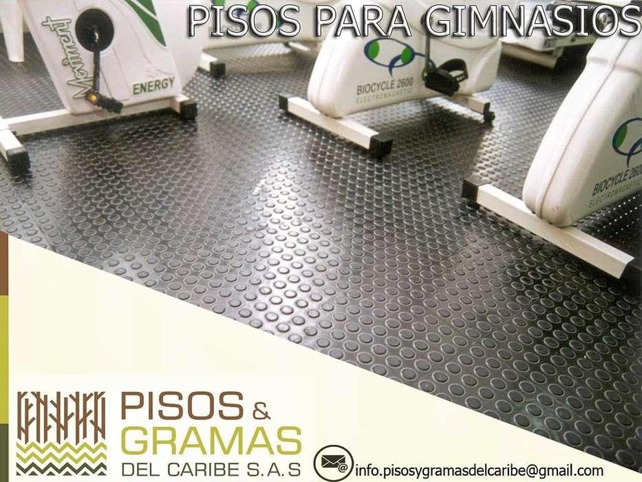 Instalacion de Pisos para Gymnasios.