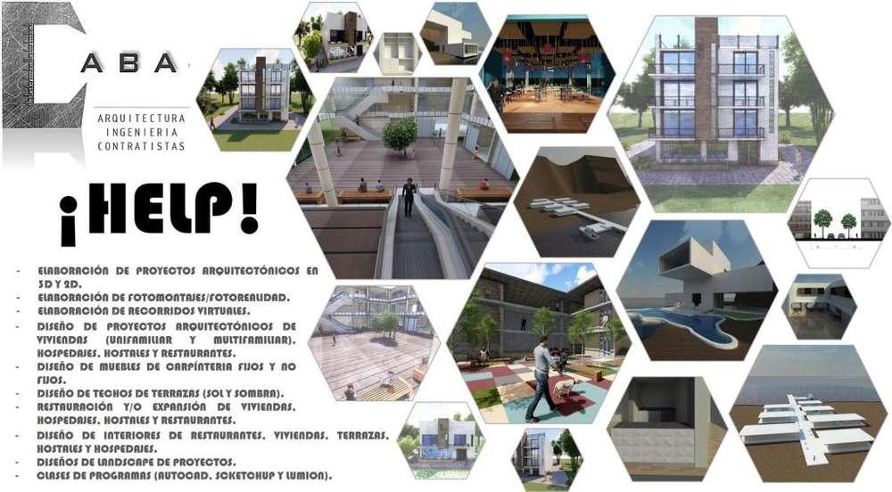 Diseño arquitectónico y diseño de interiores para cualquier tipo de edificación.