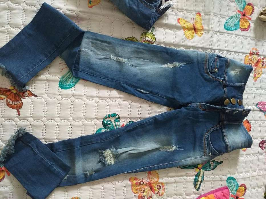 Jeans Talla 6 Solo Una Postura