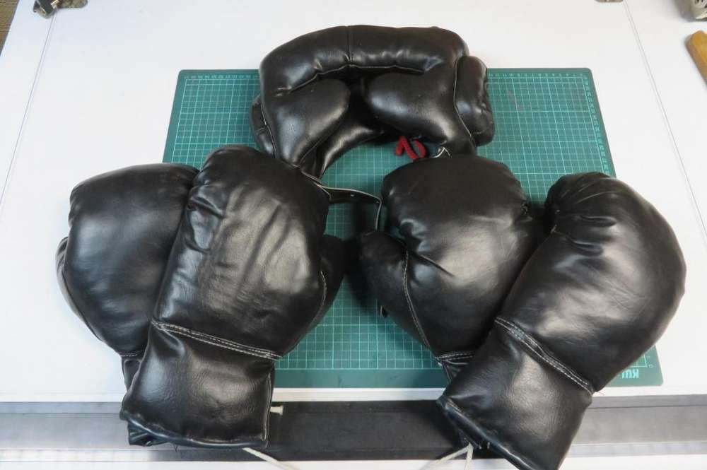 Set de boxeo