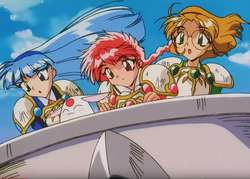Magic Knight Rayearth guerreras mágicas Anime Full Hd 1080p