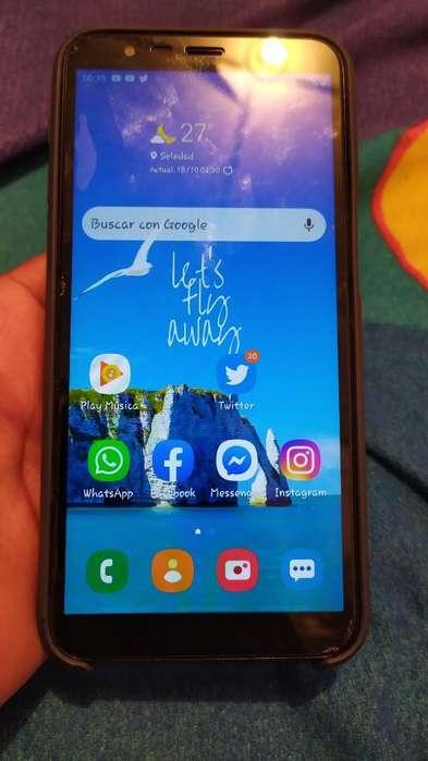 Vendo Samsung J6 con 6 Meses de Uso