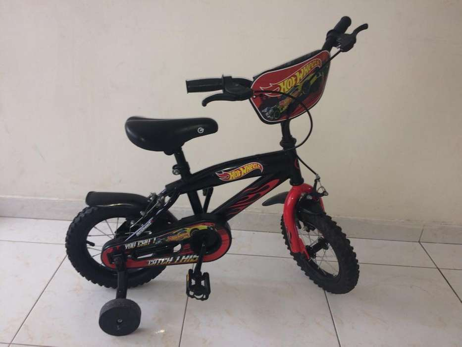Vendo Bici Hot Wheels