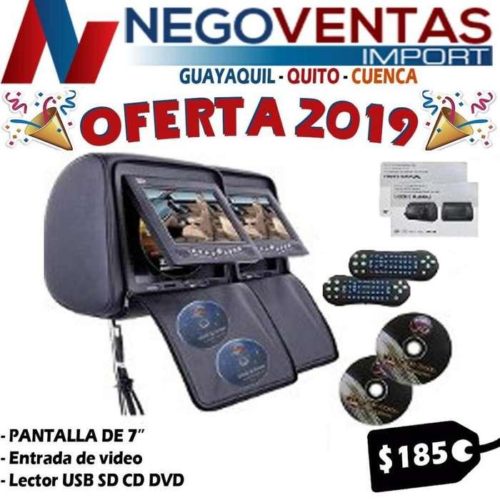 CABECERAS DOBLE REPRODUCTOR USB SD Y CD DVD DE OFERTA