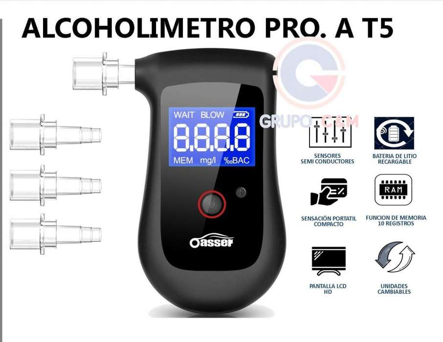 ALCOHOLIMETRO PROFESIONAL T5
