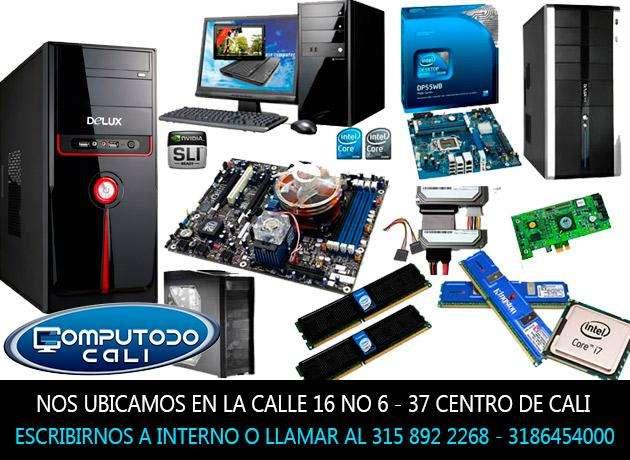 Componentes y accesorios de computadoras