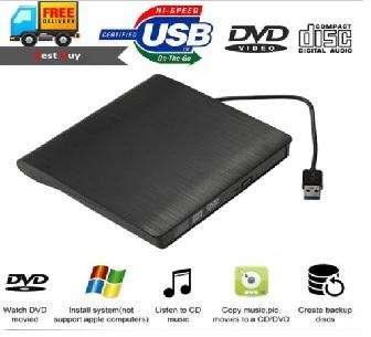 UNIDAD EXTERNA DVD RW USB 3
