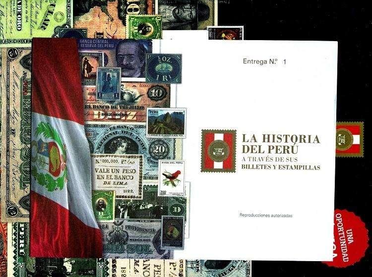 La HISTORIA DEL PERÚ a Través de Sus BILLETES y ESTAMPILLAS, Diario EL COMERCIO