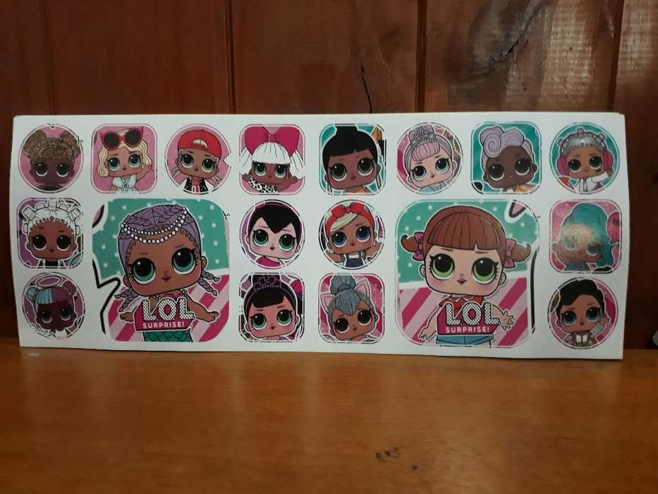 Stickers de Muñecas Lol