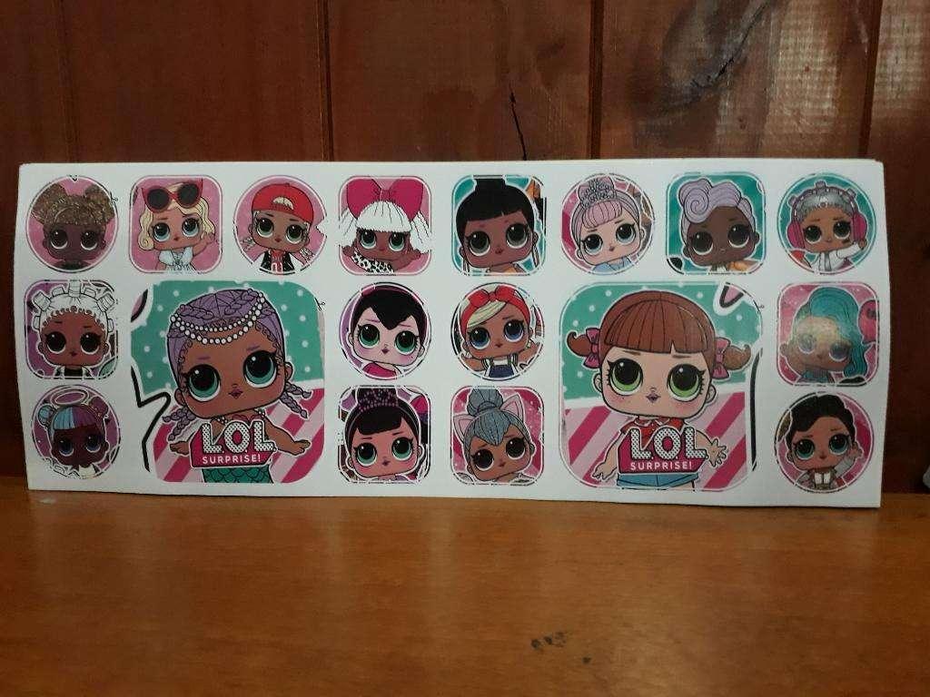 Stickers de Muñecas Lol