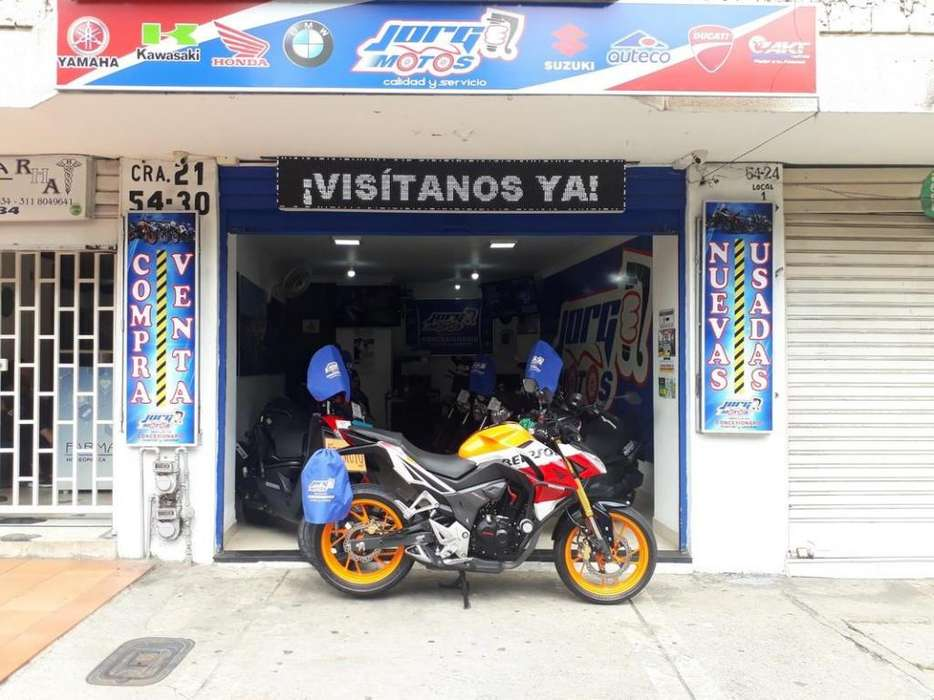 JORGE MOTOS BUCARAMANGA. Honda Cb 190 Repsol 2018, Financiación, Recibimos Motocicleta Usada!!!