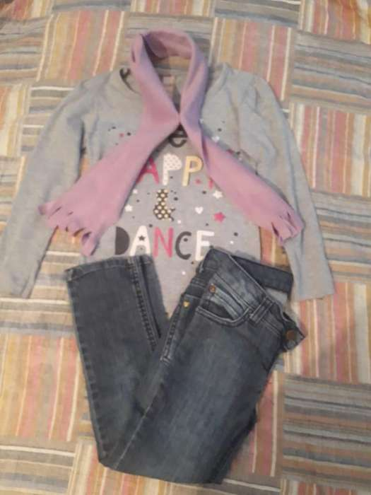 Combo Nena T 6 Jeans <strong>cheeky</strong> Rem Bufa