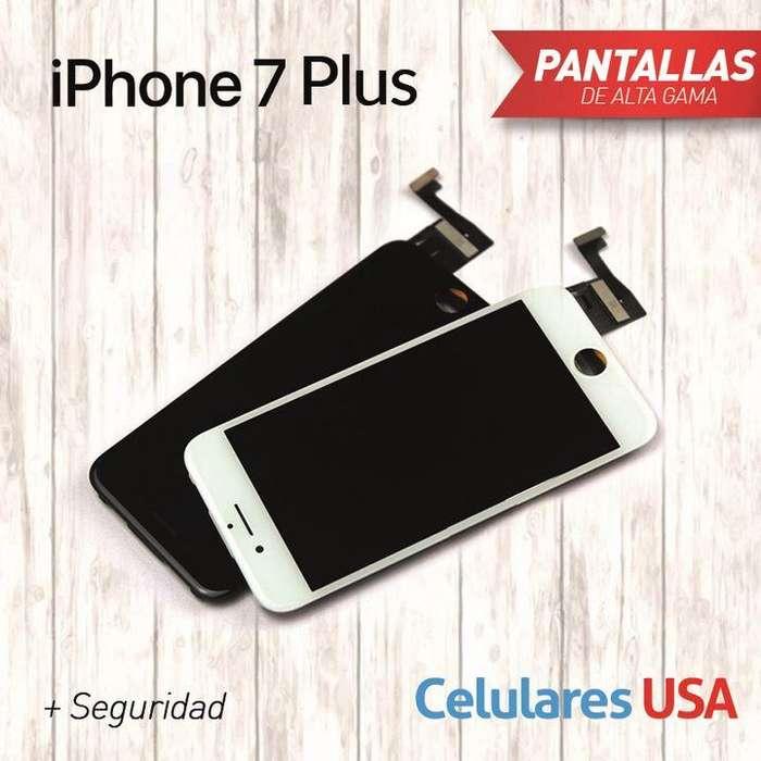 Pantalla Iphone 7 plus Tienda San Borja. Garantía.