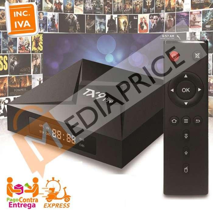 Convertidor Smart TV Box TX9 PRO 4K 8 núcleos 3GB/32GB Android 7.1 Wifi 5G Bluetooth 4.0
