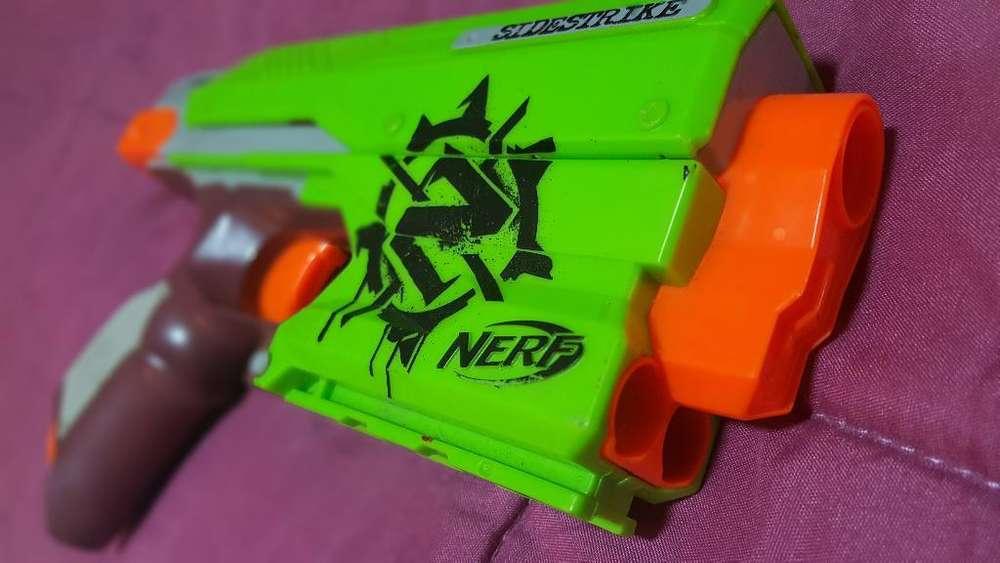 Pistola Nerf Sidestrike