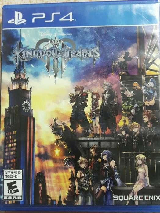 Vendo Kingdom Hearts 3 Como Nuevo