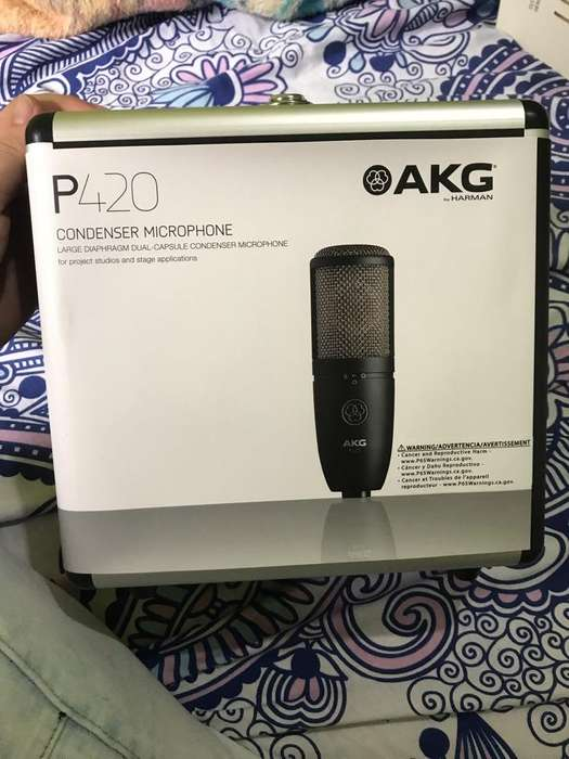 Microfono Akg P420 con Interface