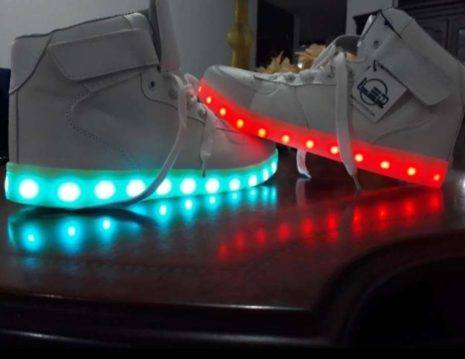 Zapatos Led Unicos