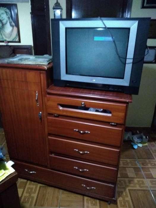 Vendo Comoda Y Televisión
