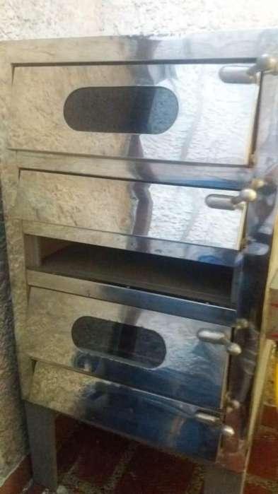 Horno y cilidradora de panaderia