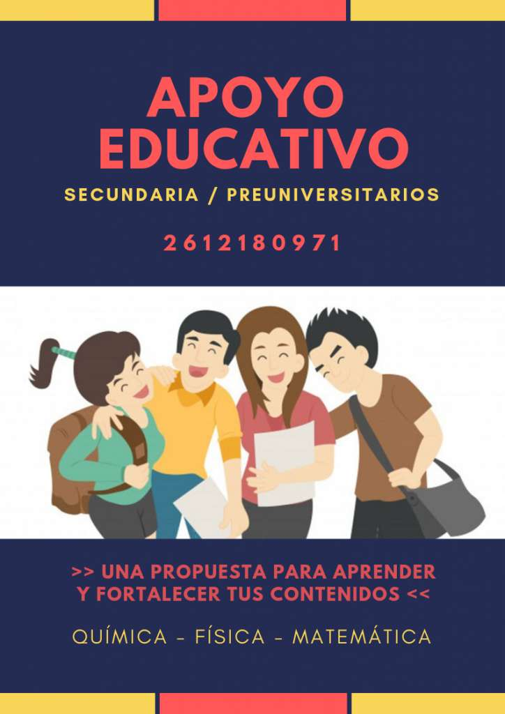 CLASES PARTICULARES / ACOMPAÑAMIENTO EDUCATIVO