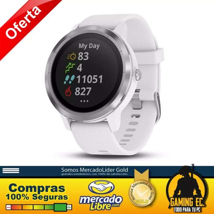 BLACK FRIDAY Garmin Vívoactive 3 Gps Reloj Inteligente Negro En Stock!