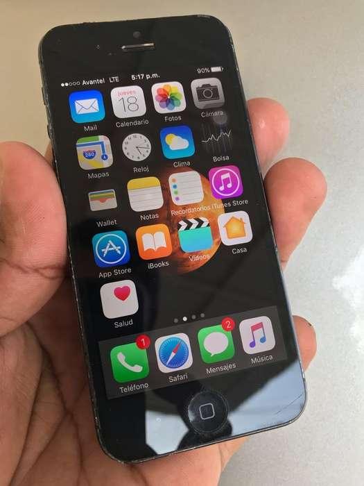 iPhone 5 en Buen Estado Libre de Cuenta