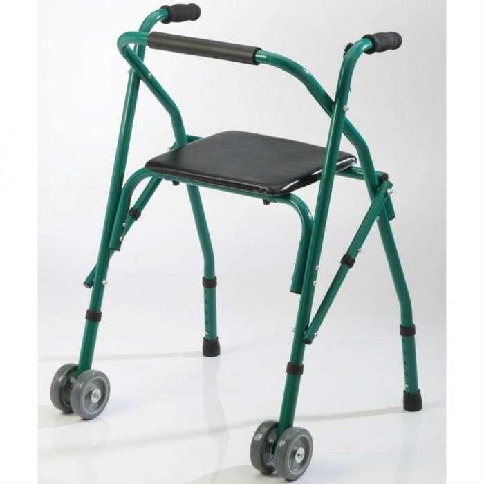 Andador plegable con asiento CARE QUIP