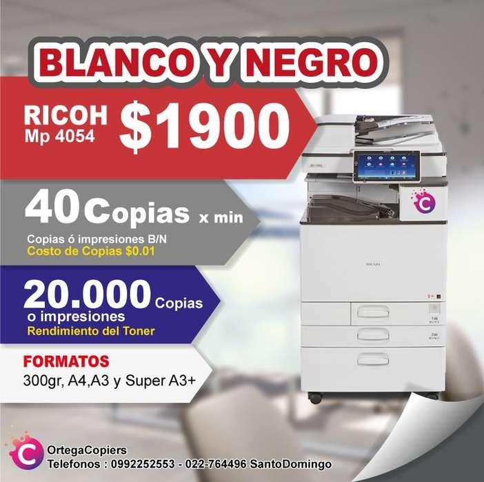 COPIADORA RICOH 4054 B/N