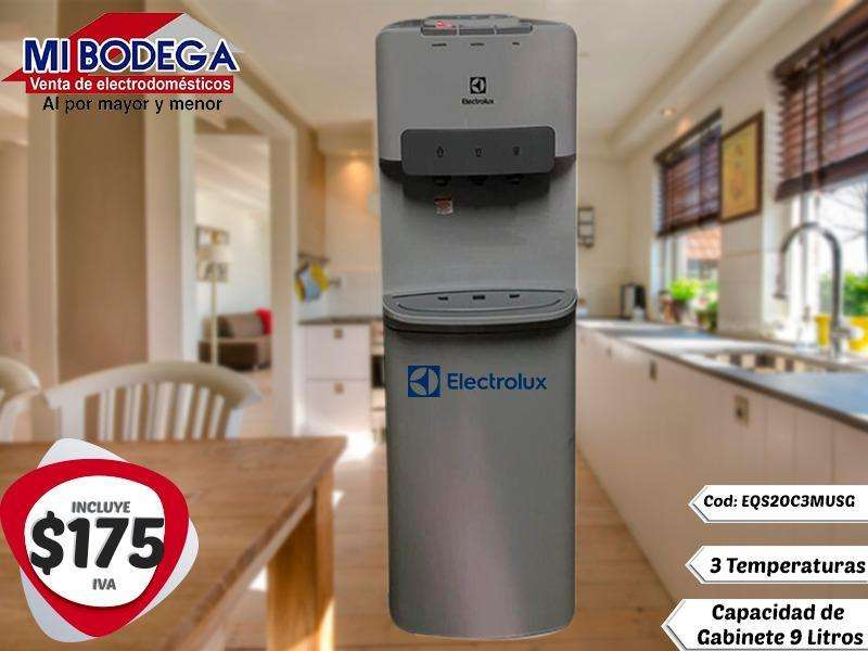 Dispensador Electrolux Color Silver Agua Fria y Caliente
