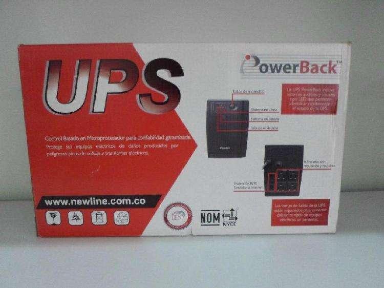 UPS POWER BACK 600VA MAS ENVIO GRATIS