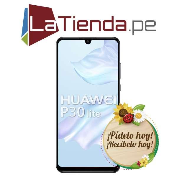 Huawei P30 Lite carga rapida