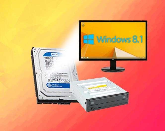 Súper Combo Wd 500gb Samsung Grabadora Dvd Win 8.1 Program
