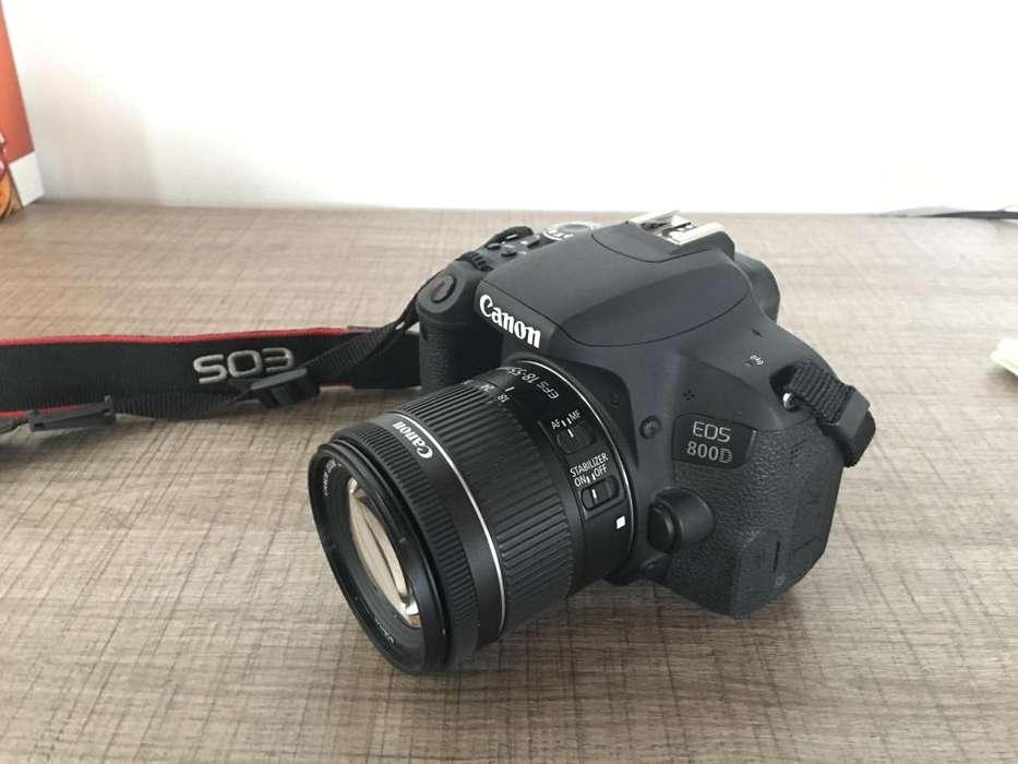Canon T7i/800D Wifi Lente 18-55mm Stm Memoria 32gb Bolso