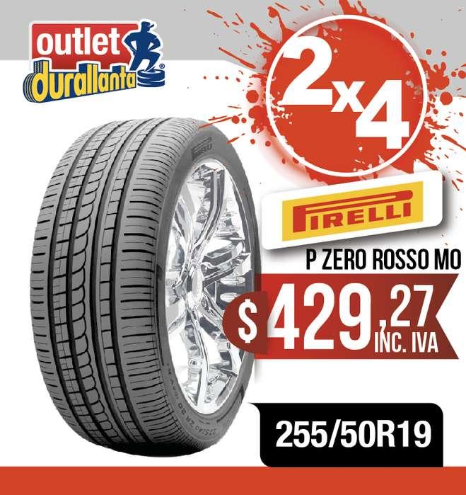 LLANTAS 255/50R19 PIRELLI PZERO ROSSO MO X5 X6
