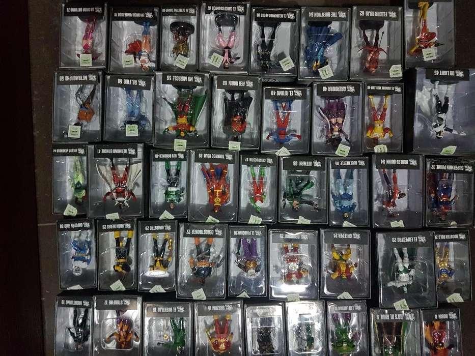 Coleccion Figuras de Plomo Dc Aguilar