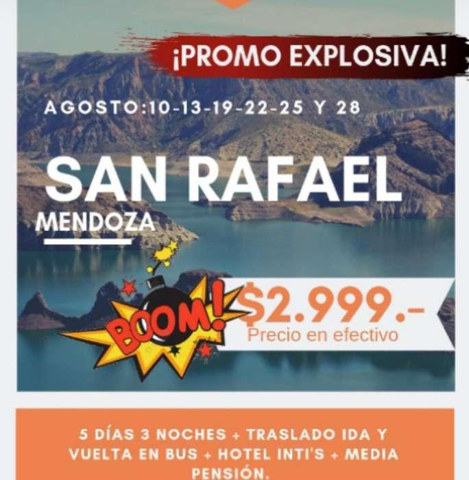 San Rafael, Agosto