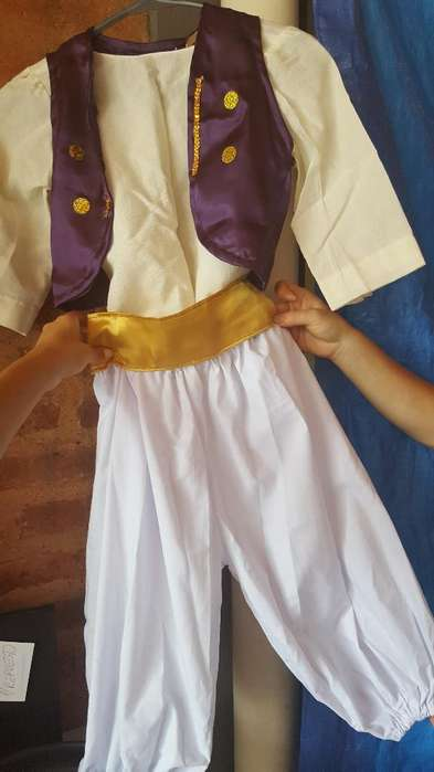 Disfraz Aladino Talle 5 O 6