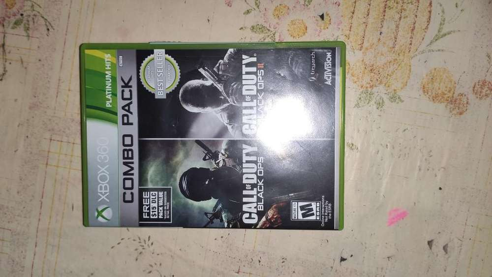 Juegos Call Of Duty Black Ops 1 Y 2