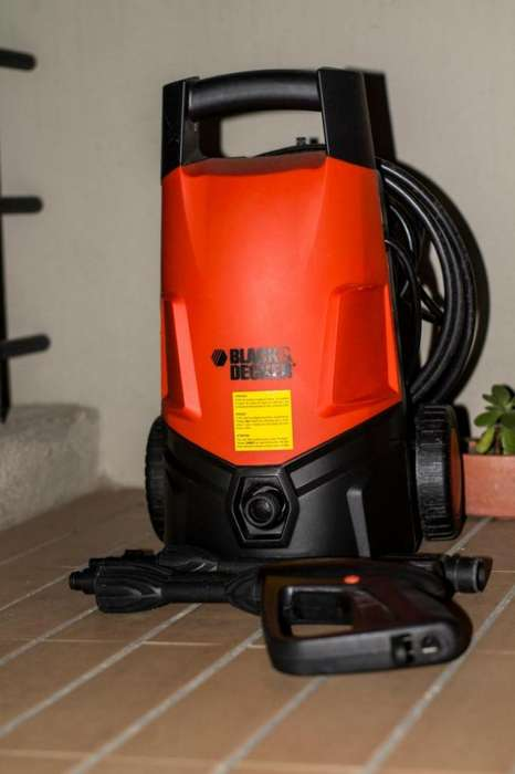 Hidrolavadora Black&Decker 1300 W - 1595 PSI