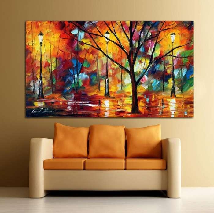 paisajes en tonos naranjas 9954
