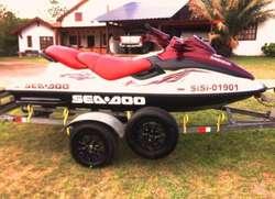 Sea Doo Gtx 1.300 Triplaza Modelo 98 con Trailer Incluido