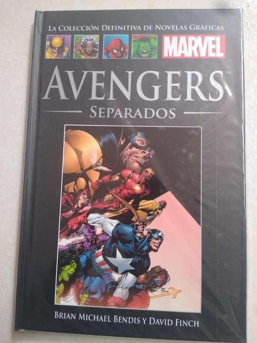 Comic Los Vengadores: SEPARADOS Salvat Tapa Dura