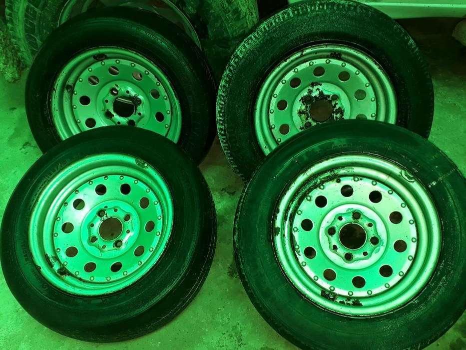 Vendo 4 Llantas R13