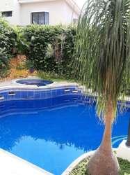 Alquiler de Casa con Piscina en Urb. Puerto Azul, cerca del C.C Costalmar, Via a la Costa
