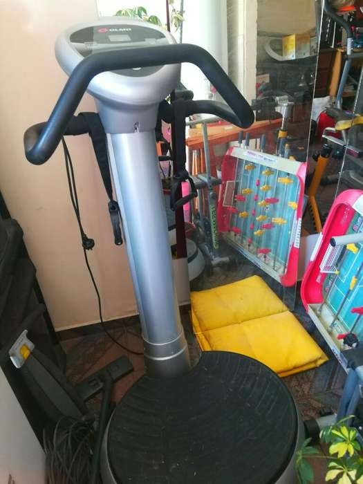 Bici Fija/2elipticos/2plat. Vibratorias