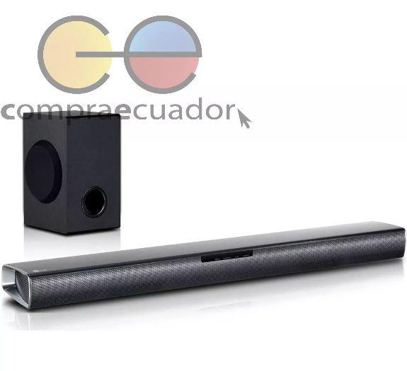 Lg Barra De Sonido Parlante Bluetooth Para Tv Led Cine 160 W