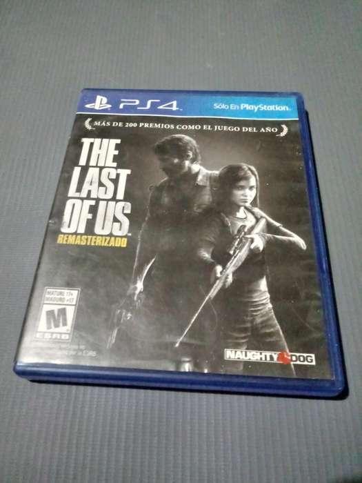 Vendo The Last Of Us Ps4