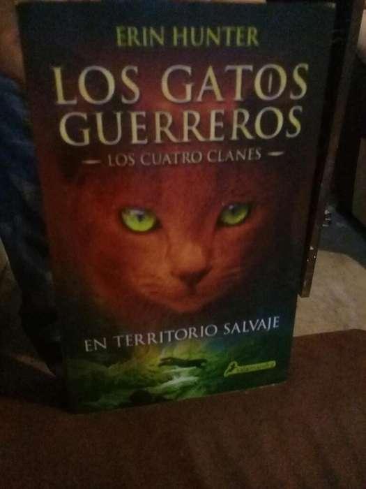 Venta 1era Saga de Los Gatos Guerreros